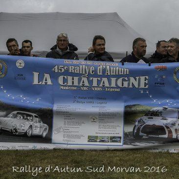 Rallye Autun Sud Morvan 2016