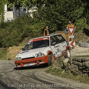 Rallye du Pays de Montbeliard 2016
