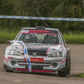 Battle des Peugeot 106 au 38eme rallye du Brionnais