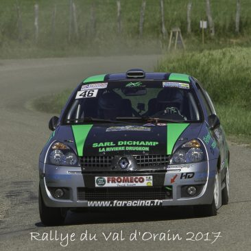 Rallye Val d'Orain 2017