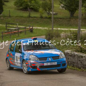 Rallye Hautes Côtes 2017
