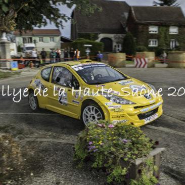 Rallye de la Haute-Saône 2017